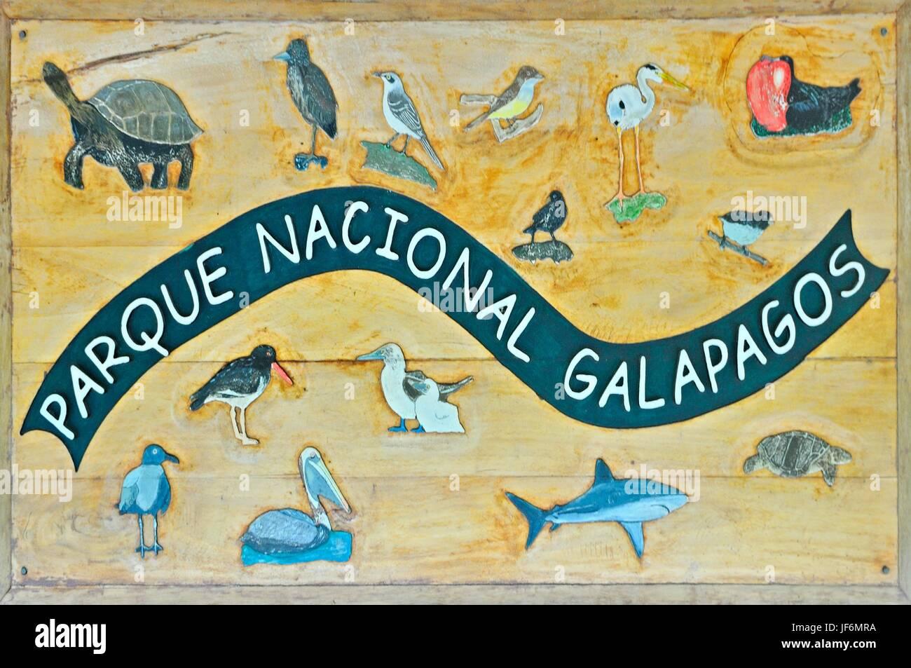 GALAPAGOS NATIONAL PARK - Stock Image