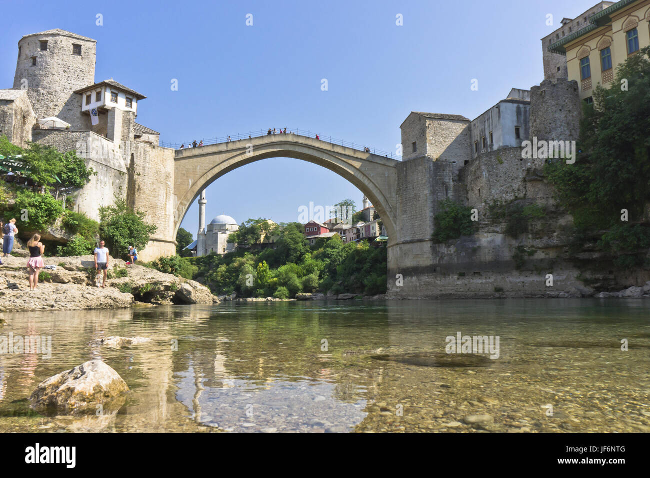 Mostar, Bosnia-Herzegovina, Balkans, Europe - Stock Image
