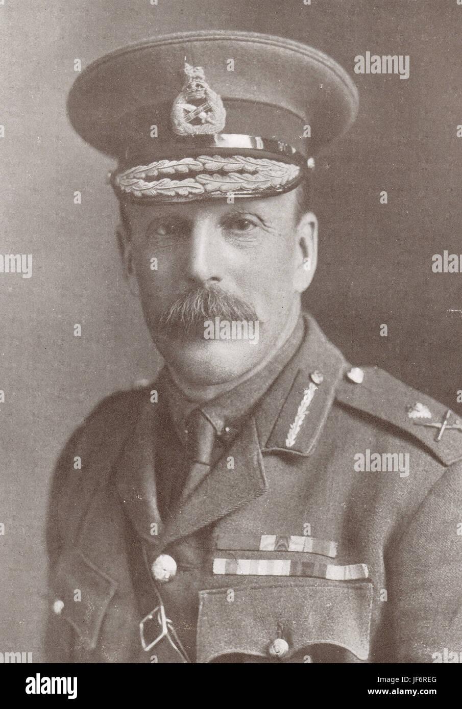 General Maude conqueror of Baghdad, 1917 - Stock Image