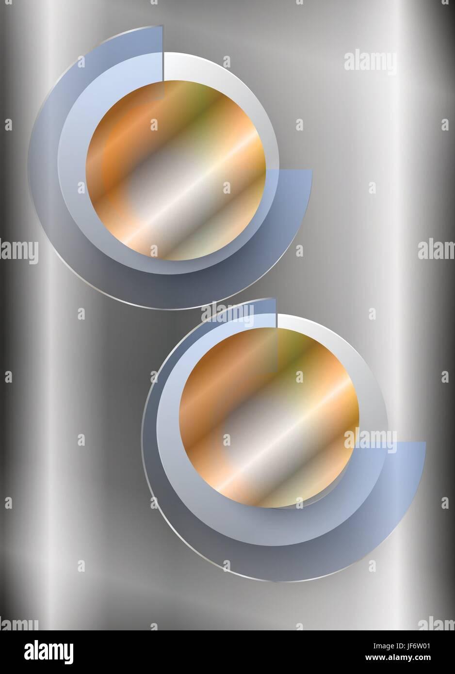 ring, steel, circle, glossy, metallic, shaddow, shadow, gold, ring, steel, - Stock Vector