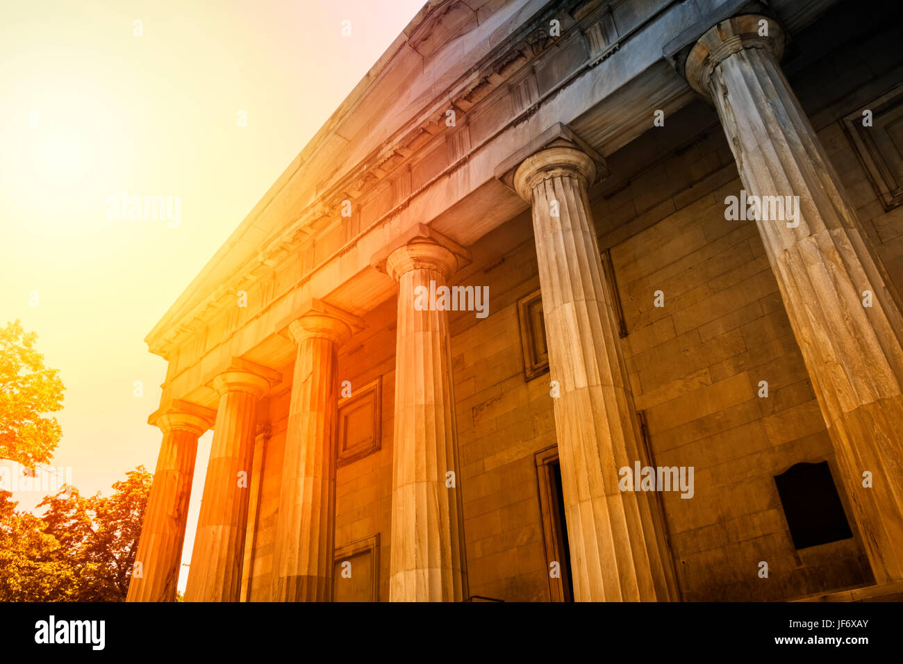 First Bank of the United States - Philadelphia, Pennsylvania, USA - Stock Image