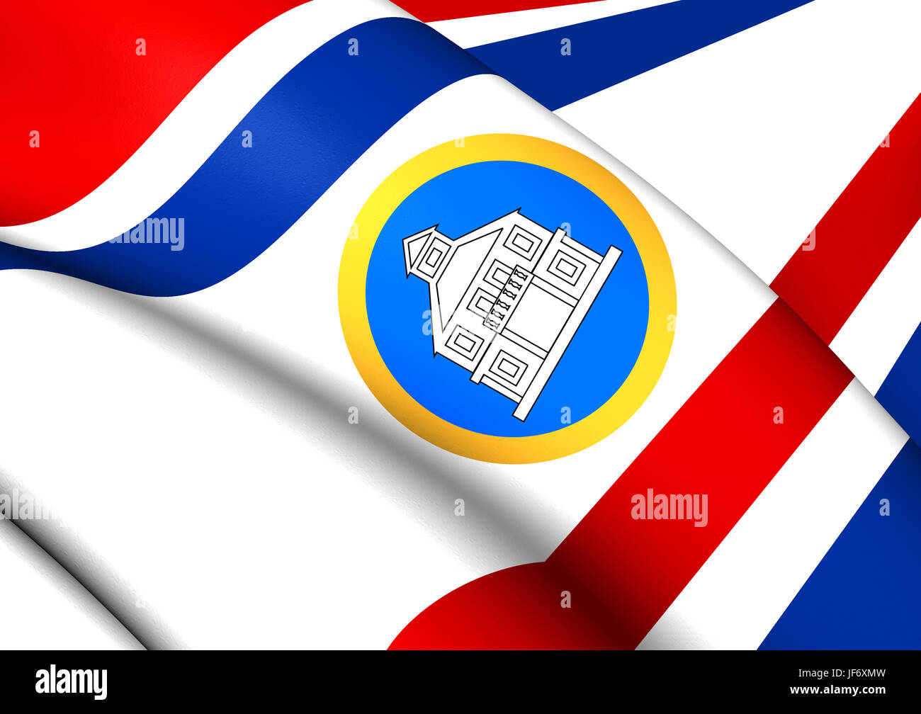 Sint Maarten Flag High Resolution Stock Photography And Images Alamy