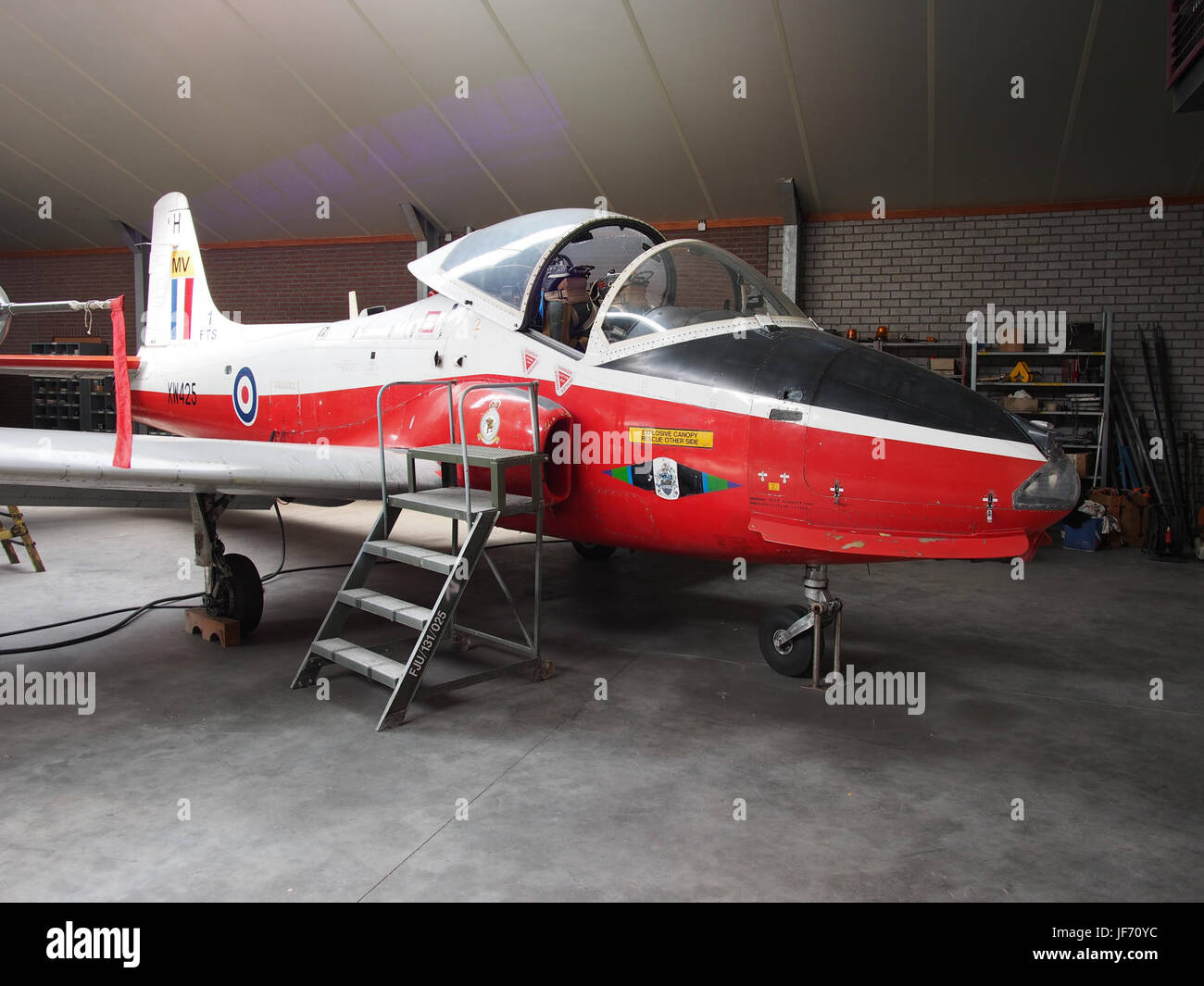 1972 BAC 84 Jet Provost T5A XW425 photo 2 Stock Photo