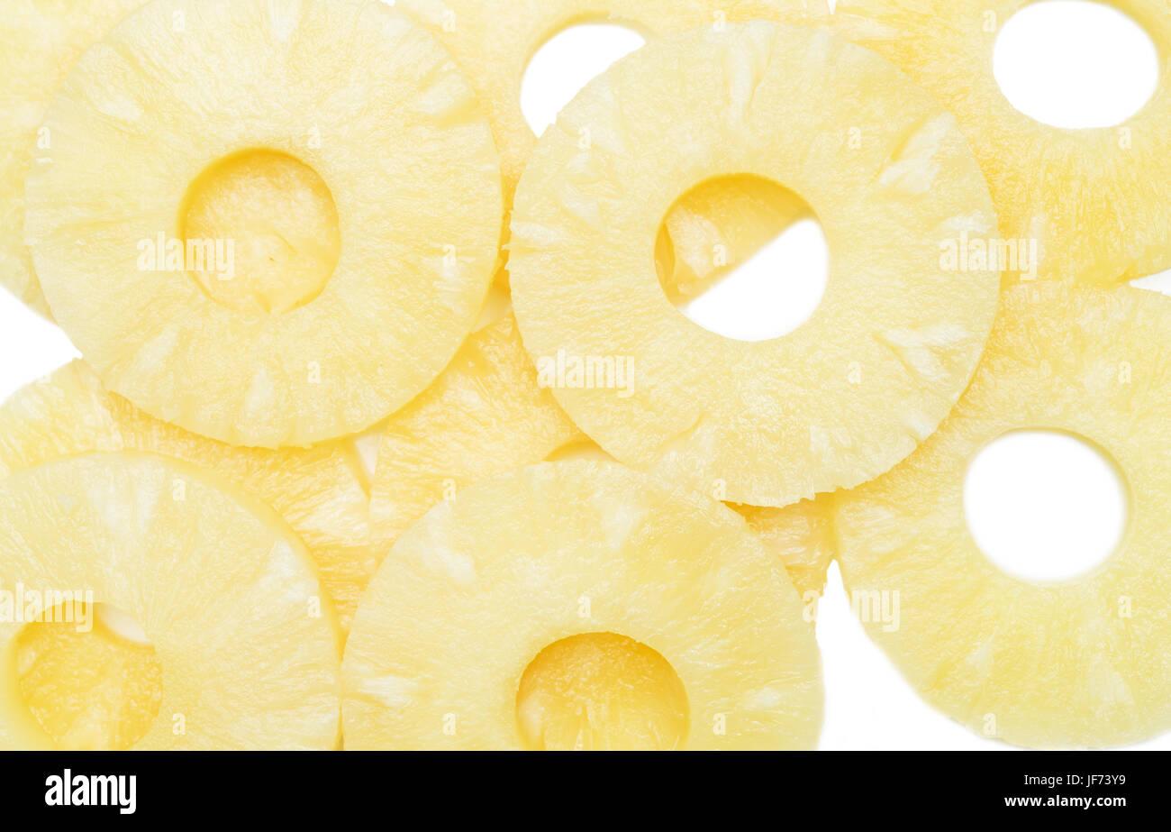 pineapple slices - Stock Image