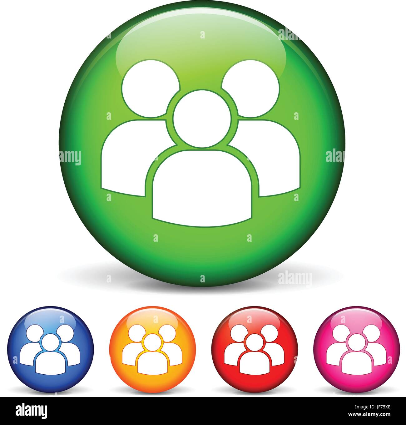 humans, human beings, people, folk, persons, human, human being, button, Stock Vector