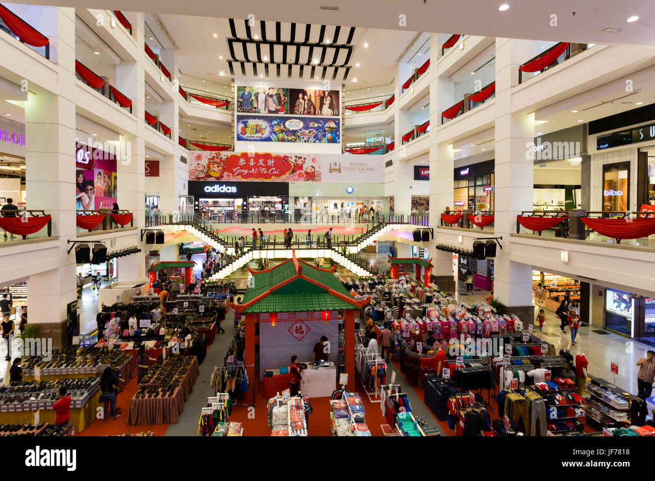 Kuala lumpur malaysia january 26 2017 interior of berjaya times kuala lumpur malaysia january 26 2017 interior of berjaya times square shopping mall berjaya times square is a 48 storey 203 m twin tower hot publicscrutiny Images
