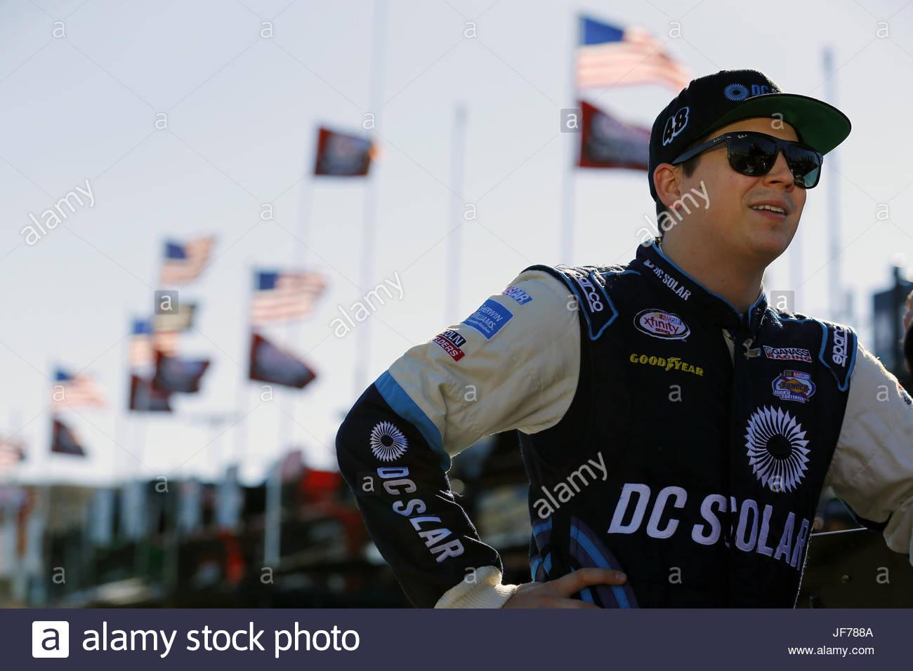 NASCAR: Nov 11 Ticket Galaxy 200 - Stock Image