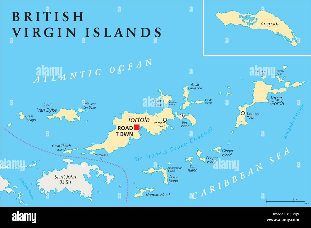 The Bottom British Virgin Island