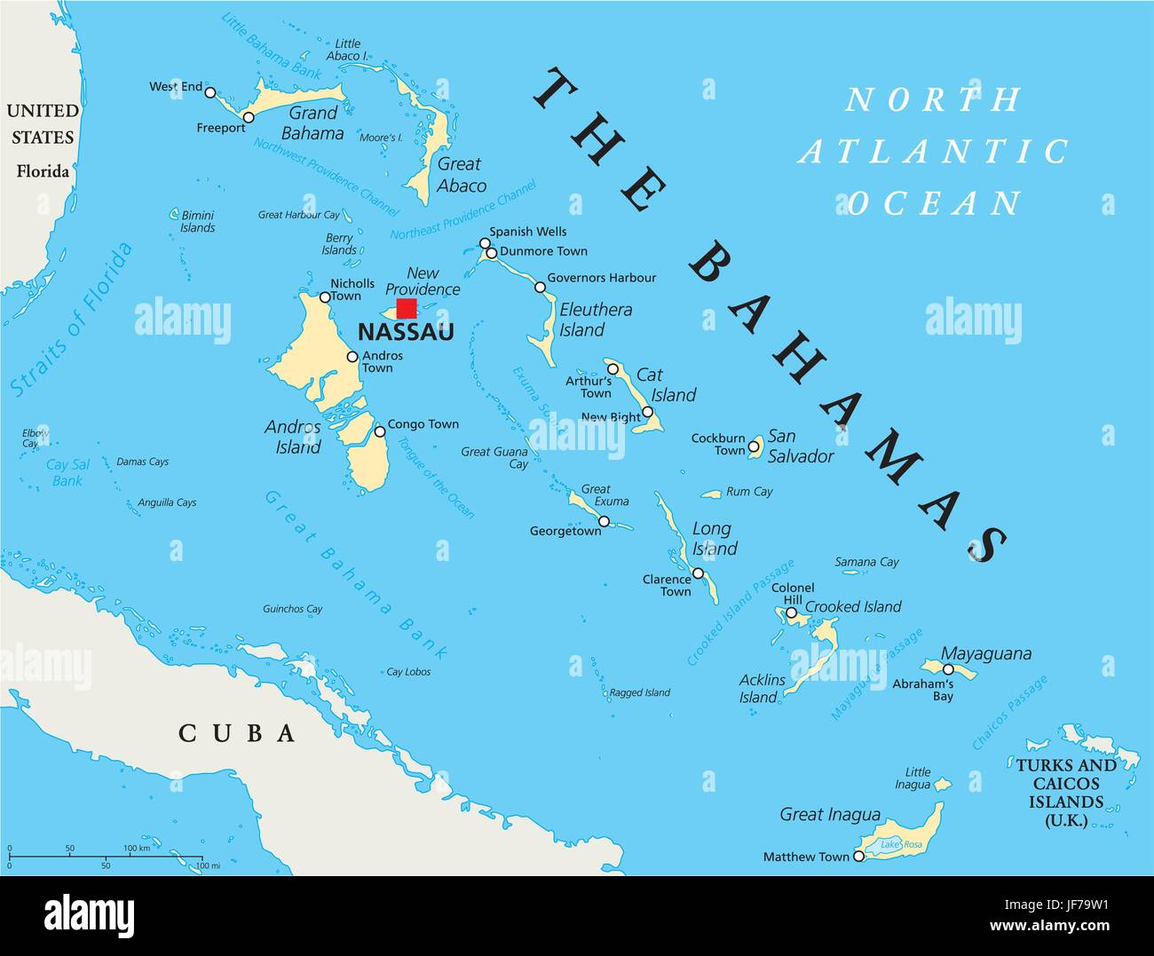 cruise destination island bahamas map atlas map of the world