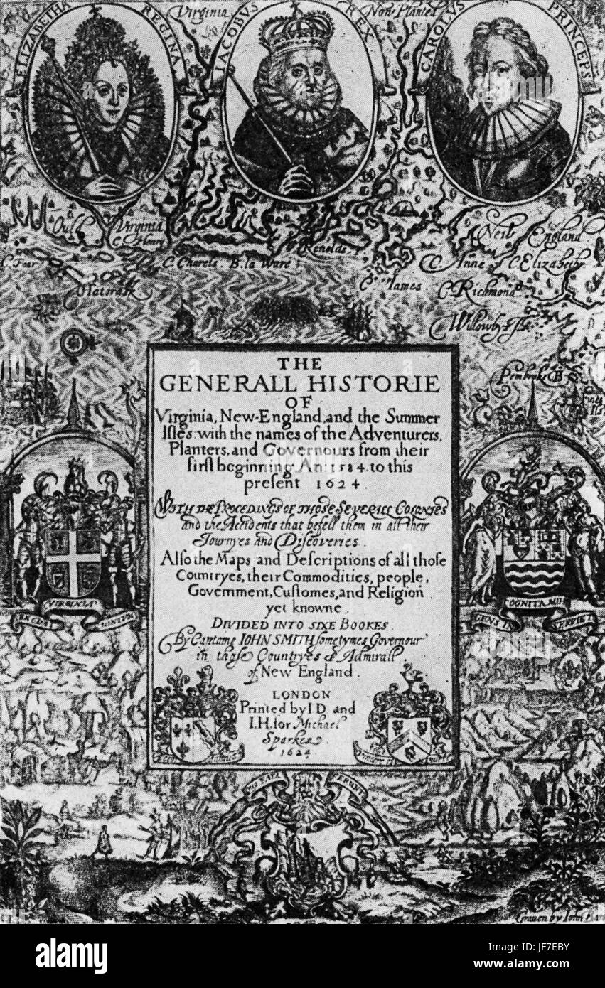 general history of virginia Well before the settling of virginia and massachusetts in 1607 and 1620,  john  smith, the general history of virginia, new england, and the summer isles (pp.
