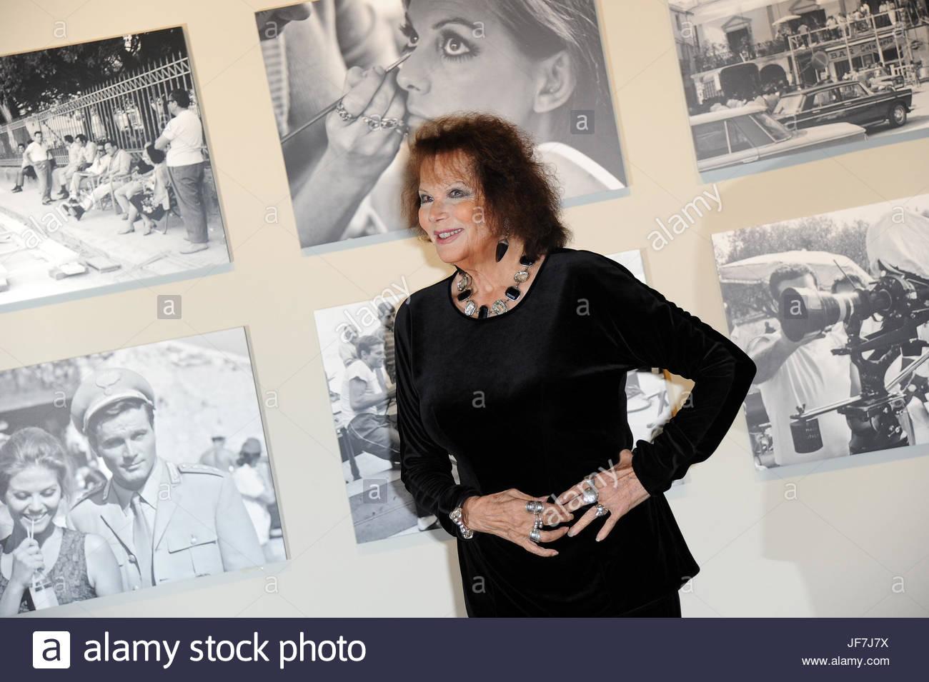 Claudia Cardinale - Stock Image