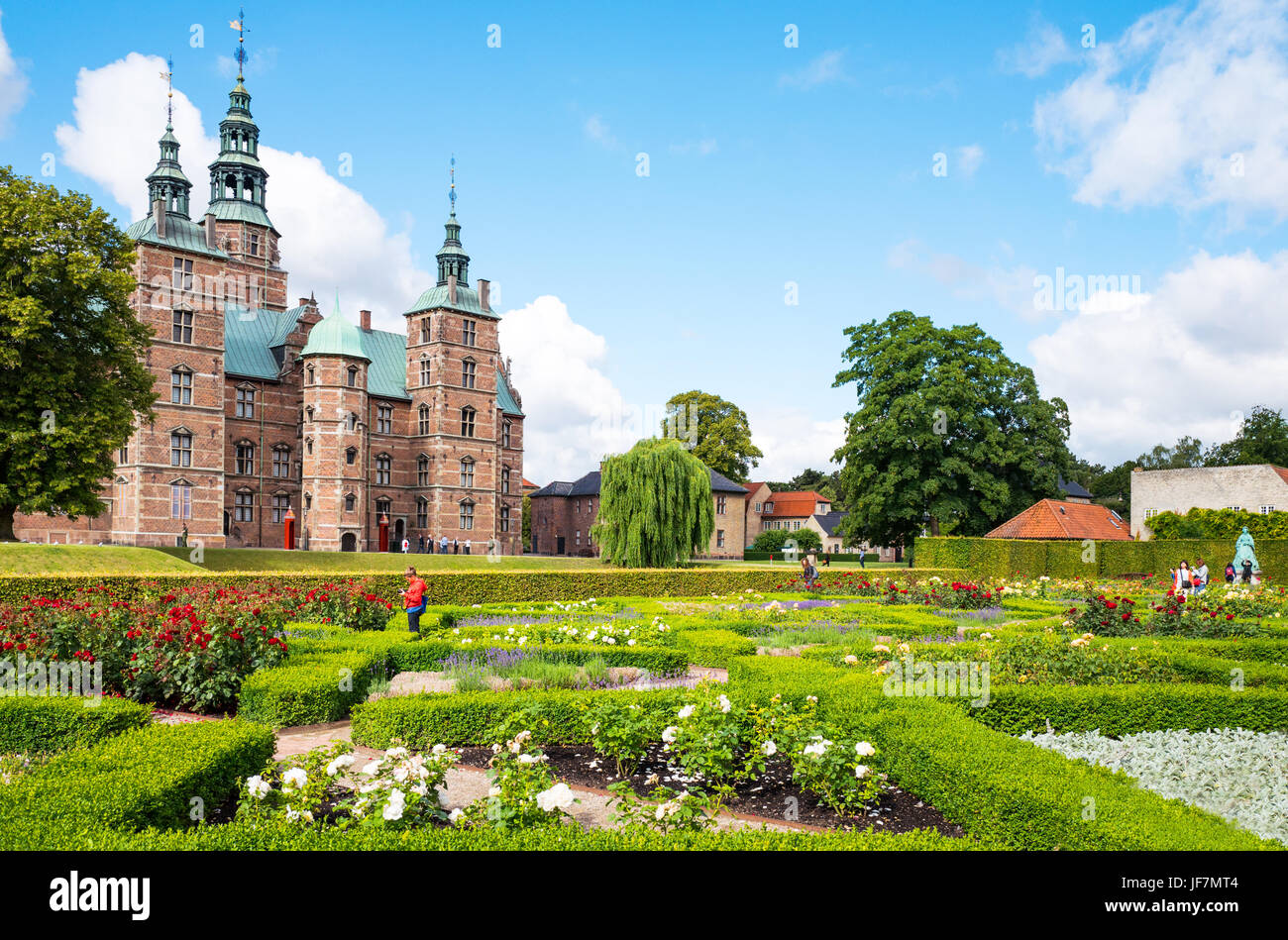 copenhagen denmark the rosenborg castle seen from the king 39 s garden stock photo 147072804 alamy. Black Bedroom Furniture Sets. Home Design Ideas