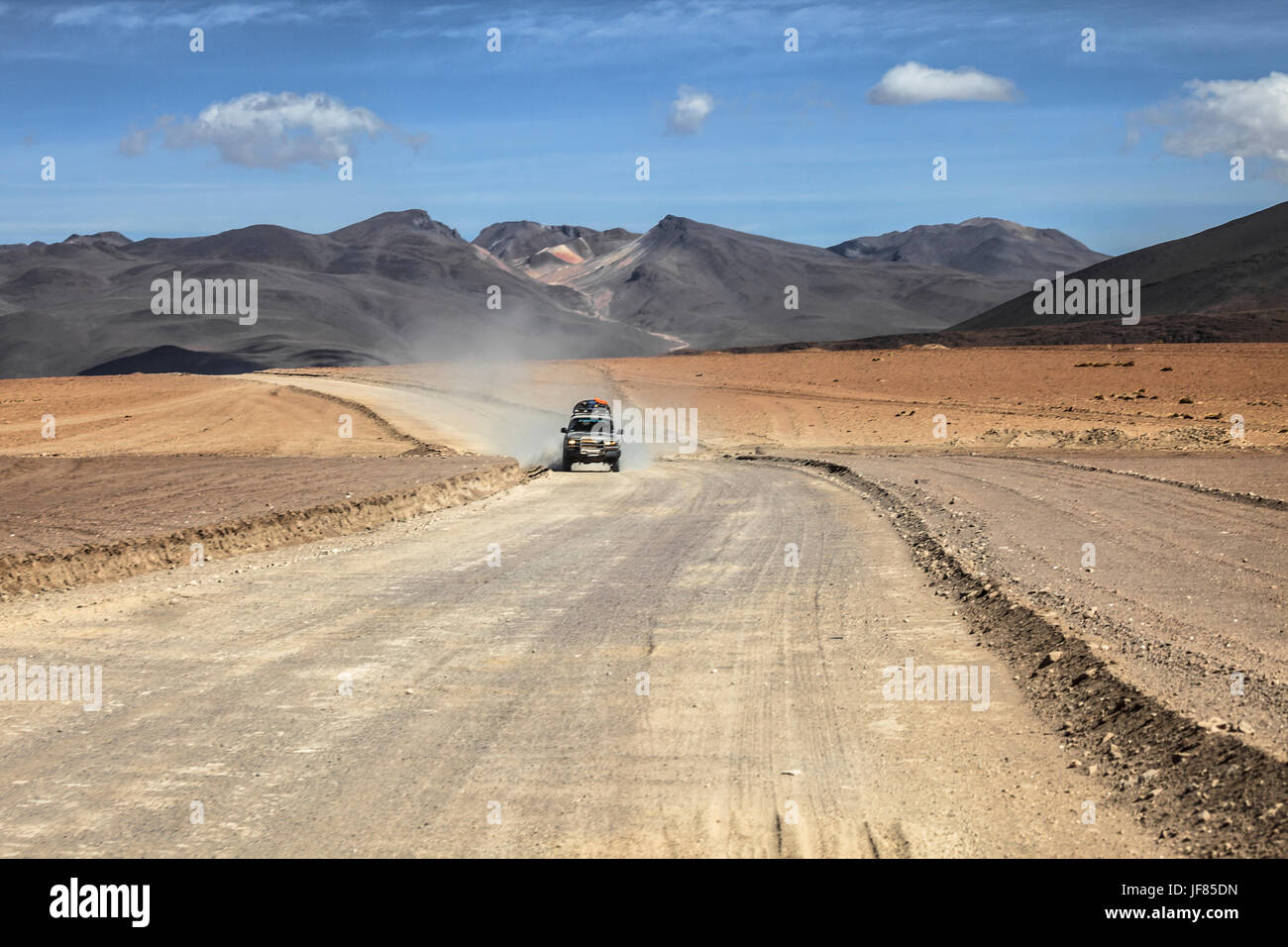 Altiplano of Bolivia. - Stock Image