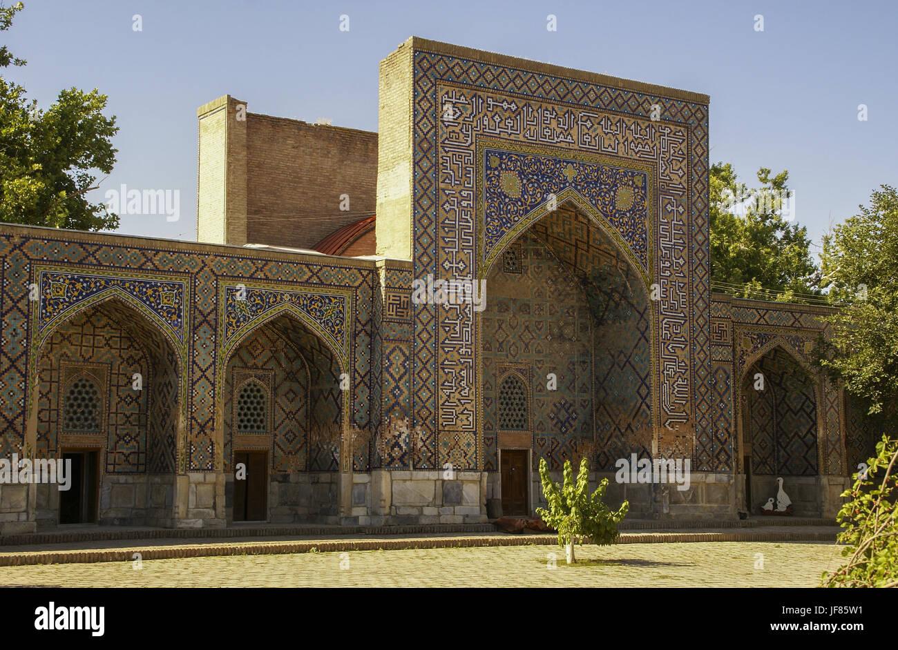 Old-town of Samarqand, Uzbekistan Stock Photo