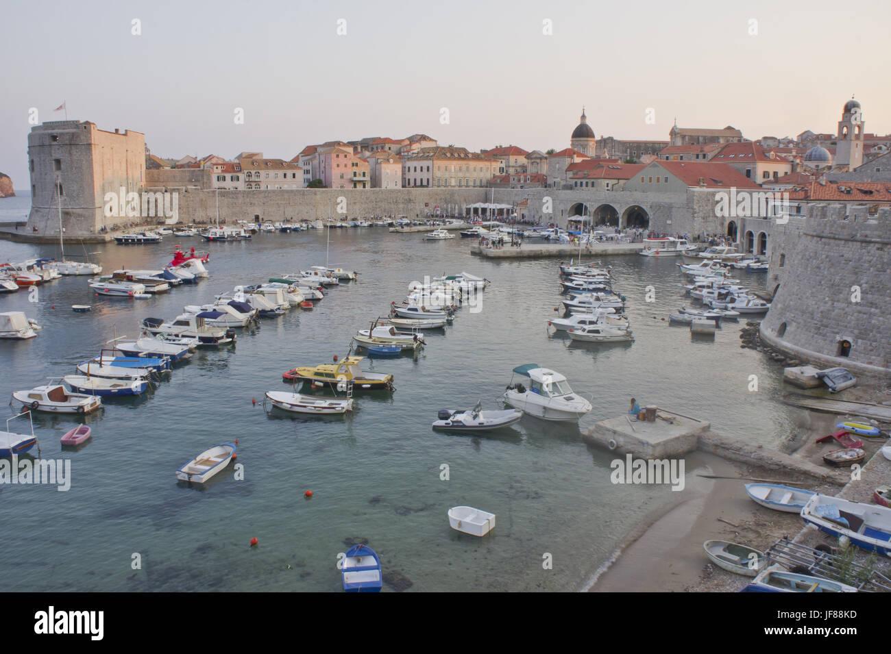 Dubrovnik, Croatia, Balkans, Europe - Stock Image