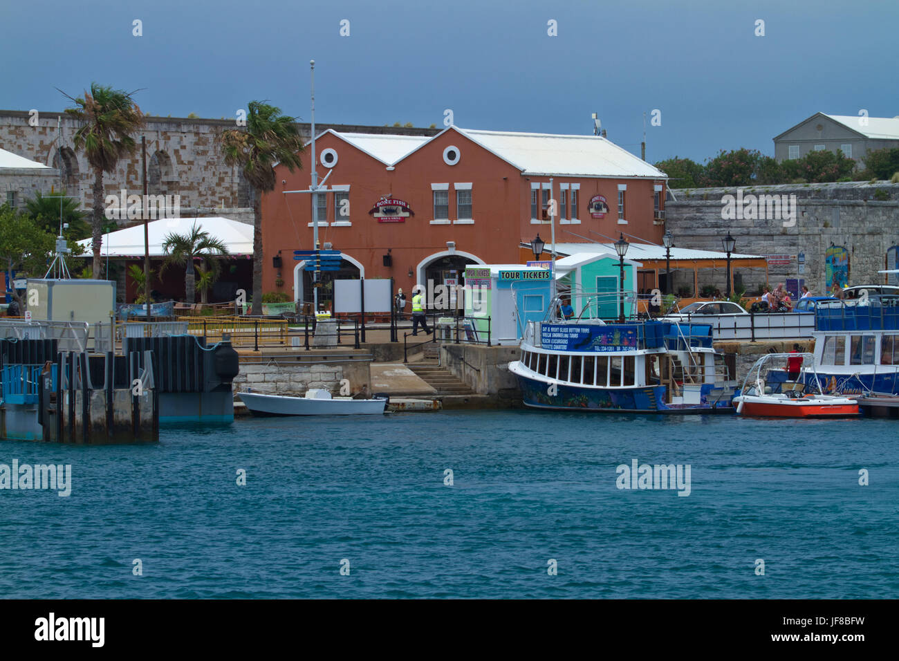 Bermuda Ferry Ride - Stock Image