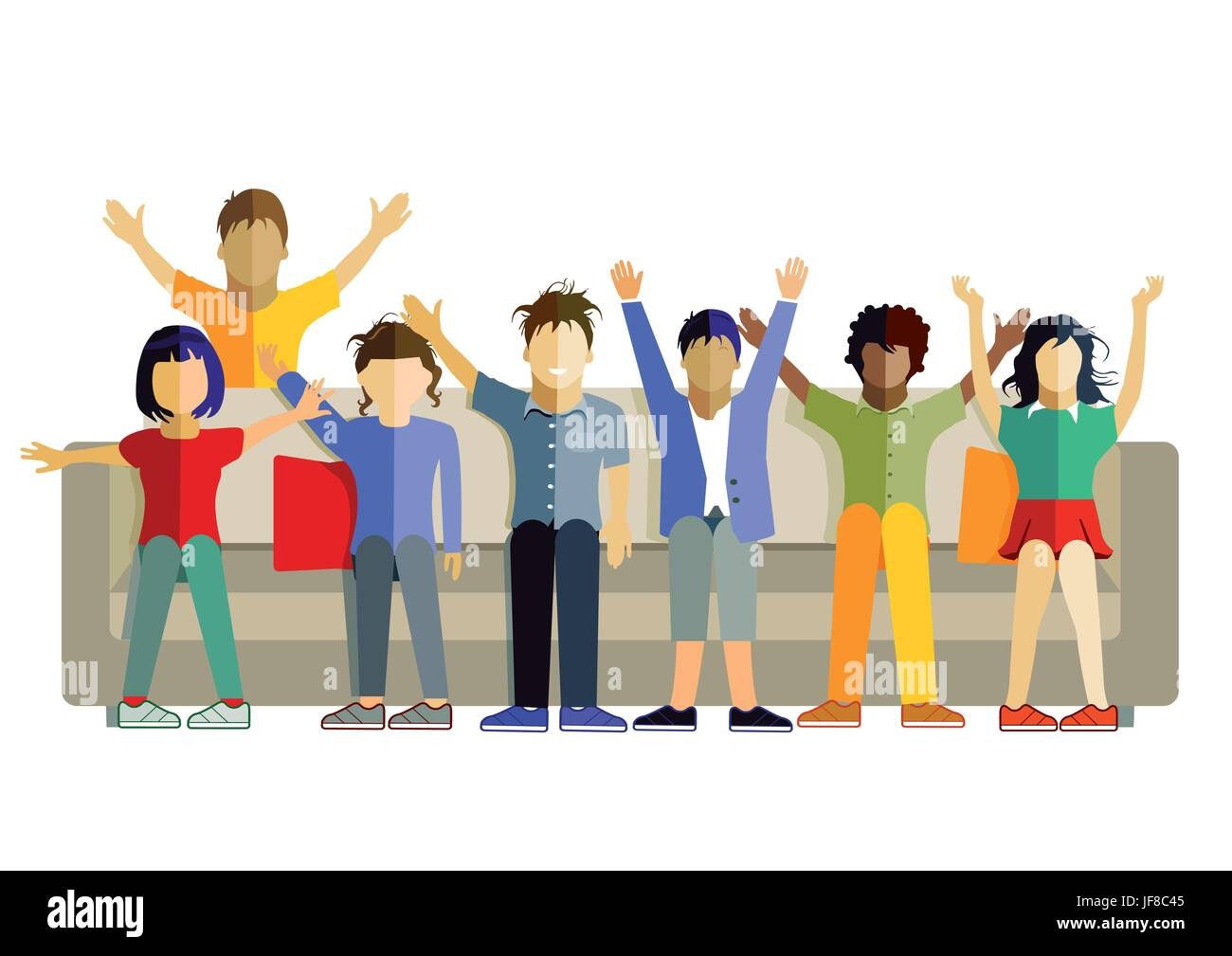humans, human beings, people, folk, persons, human, human being, motion, Stock Vector