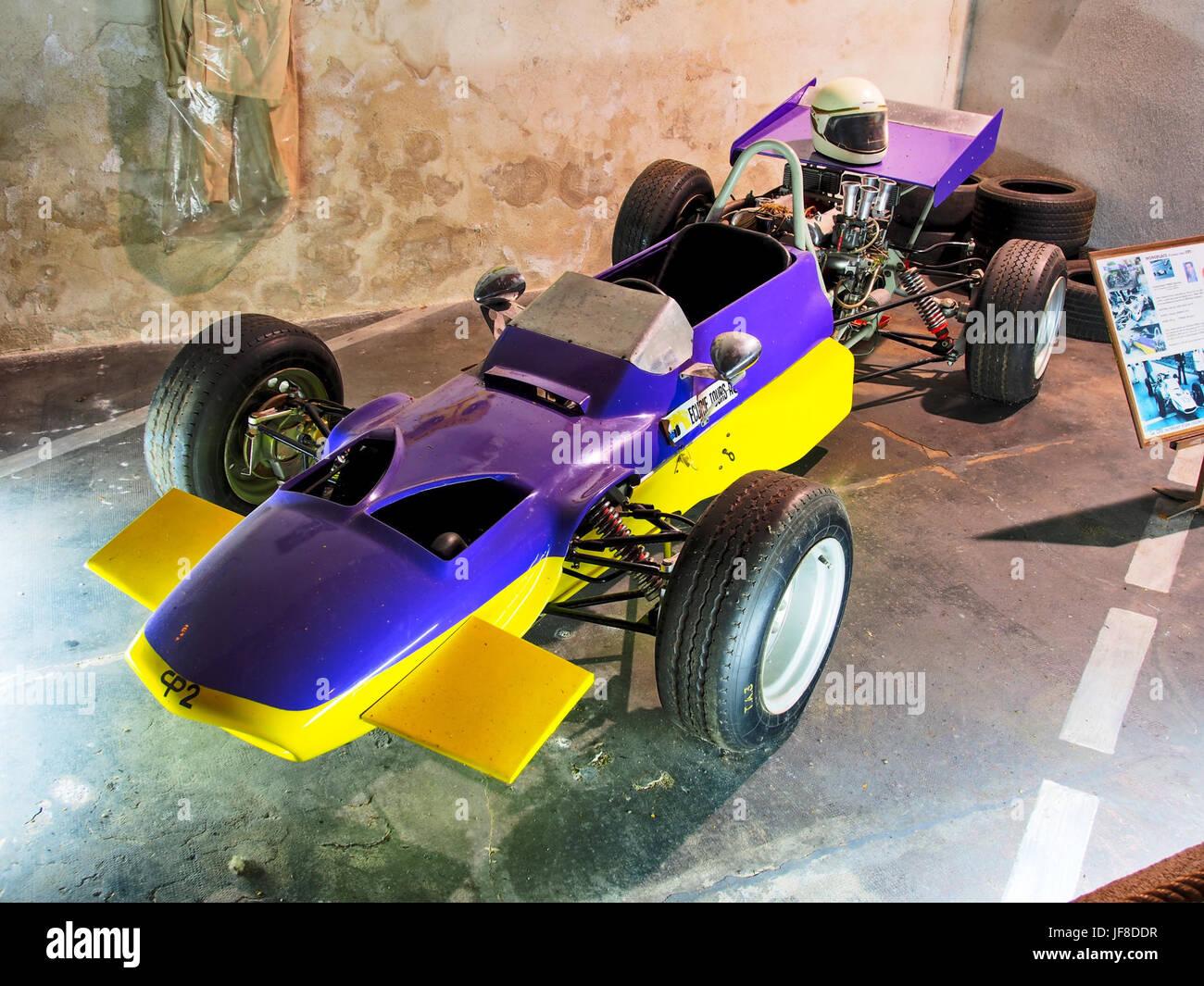 1970 monoplace Formule libre CP2, PEAN Christian, 1500cc FIAT OSCA 100cv, Musée Maurice Dufresne photo 1 - Stock Image