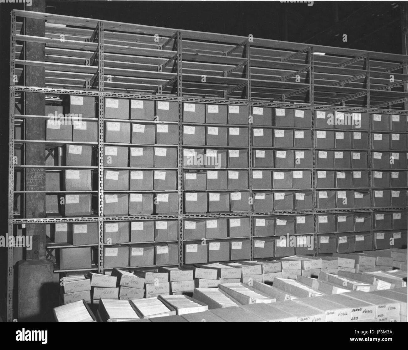 Photograph of Federal Records Center Franconia, Virginia 35263694492 o Stock Photo