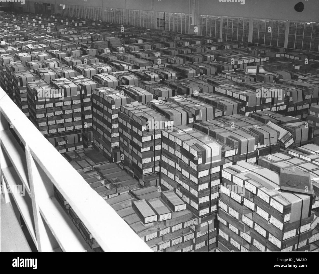 Photograph of Federal Records Center, Alexandria, Virginia 34620125403 o Stock Photo