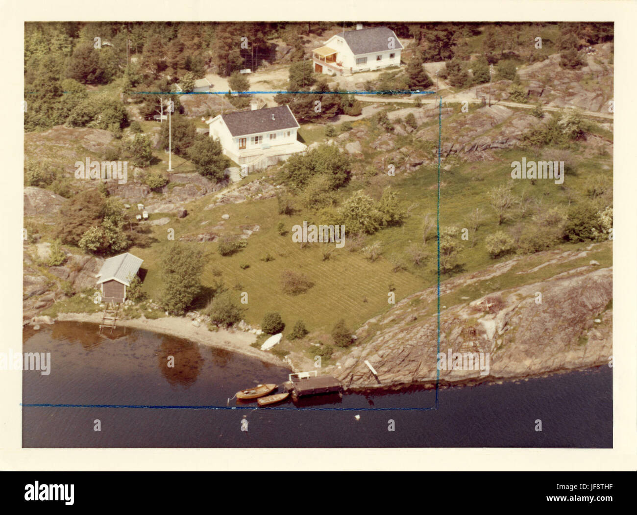 Rønningen Årøysund, Nøtterøy 25121008241 o - Stock Image