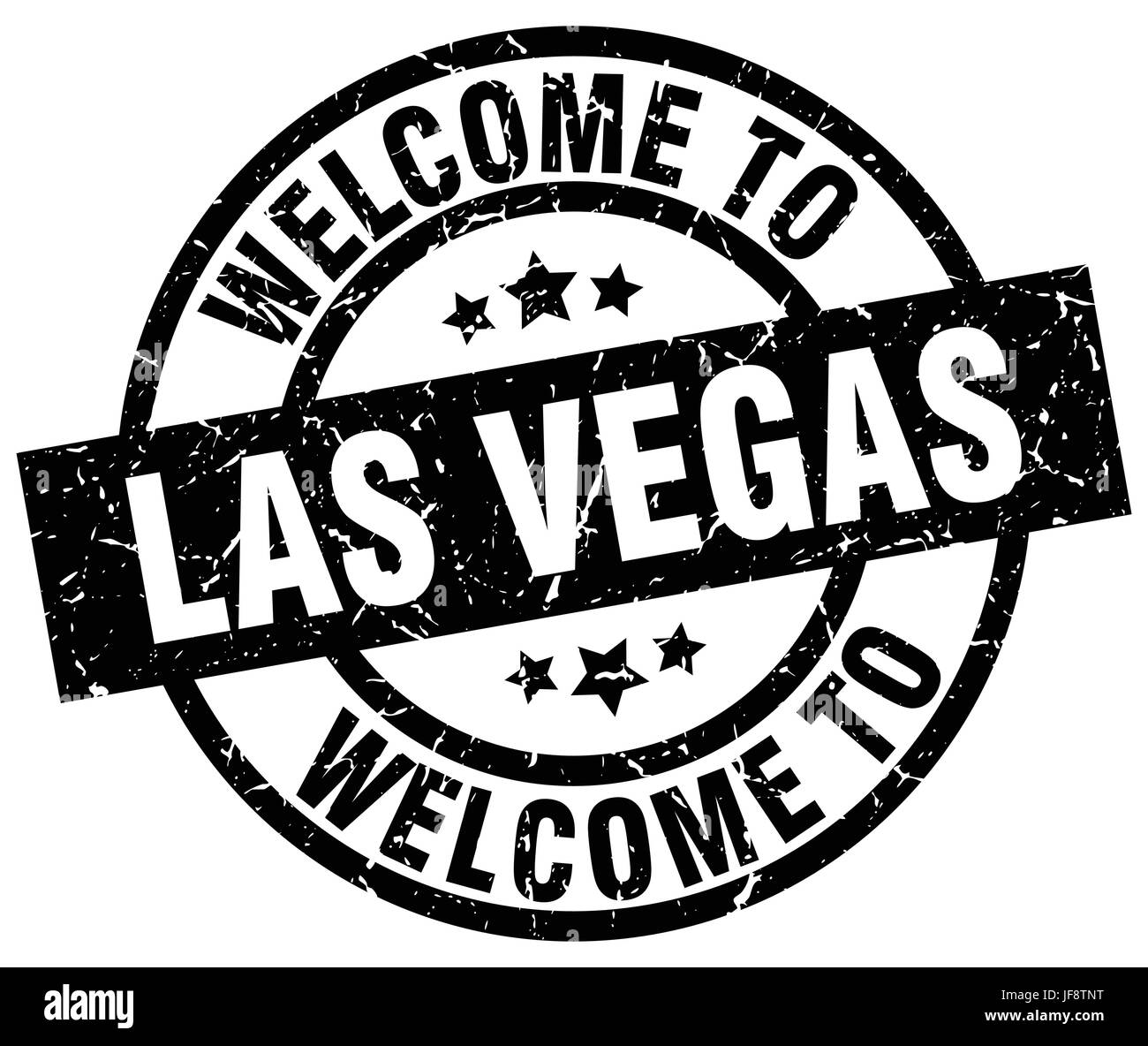 Las Vegas Welcome Sign And Black Stock Vector Images Alamy