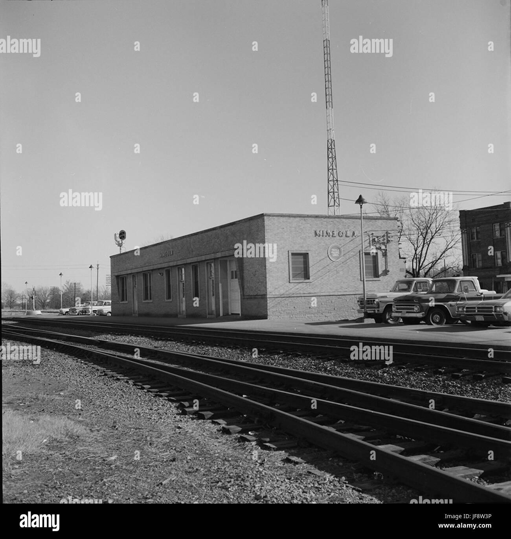 [Texas and Pacific Railway Passenger Station, Mineola, Texas] 32535337642 o - Stock Image