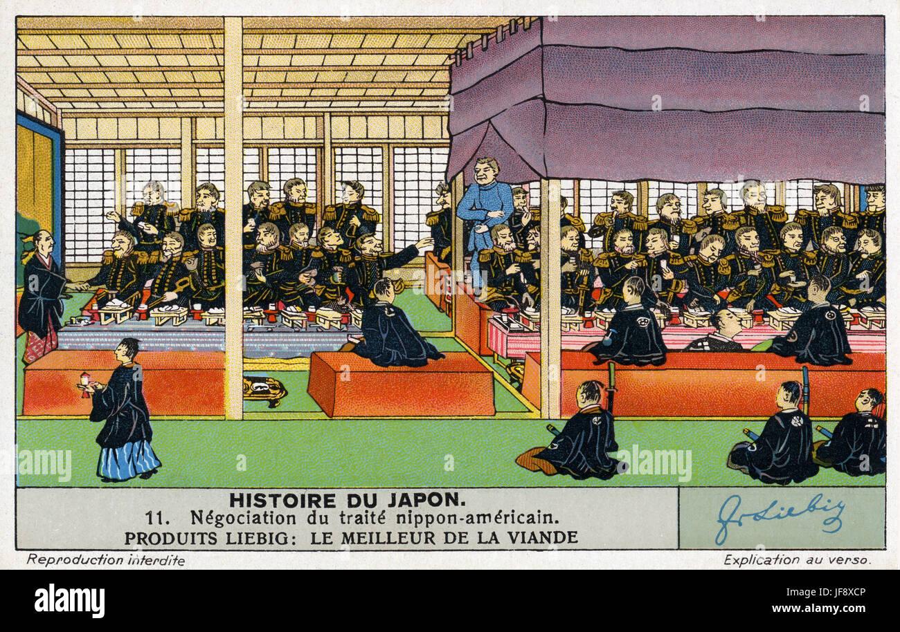 Convention of Kanagawa / Kanagawa Treaty, 31 March 1854. First ...