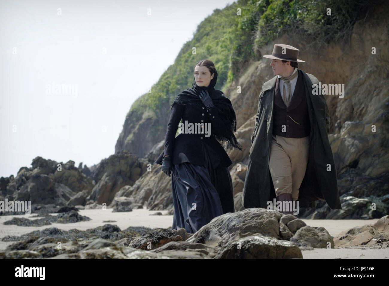 MY COUSIN RACHEL (2017)  RACHEL WEISZ  SAM CLAFLIN  ROGER MICHELL (DIR)  FOX SEARCHLIGHT PICTURES/MOVIESTORE COLLECTION - Stock Image