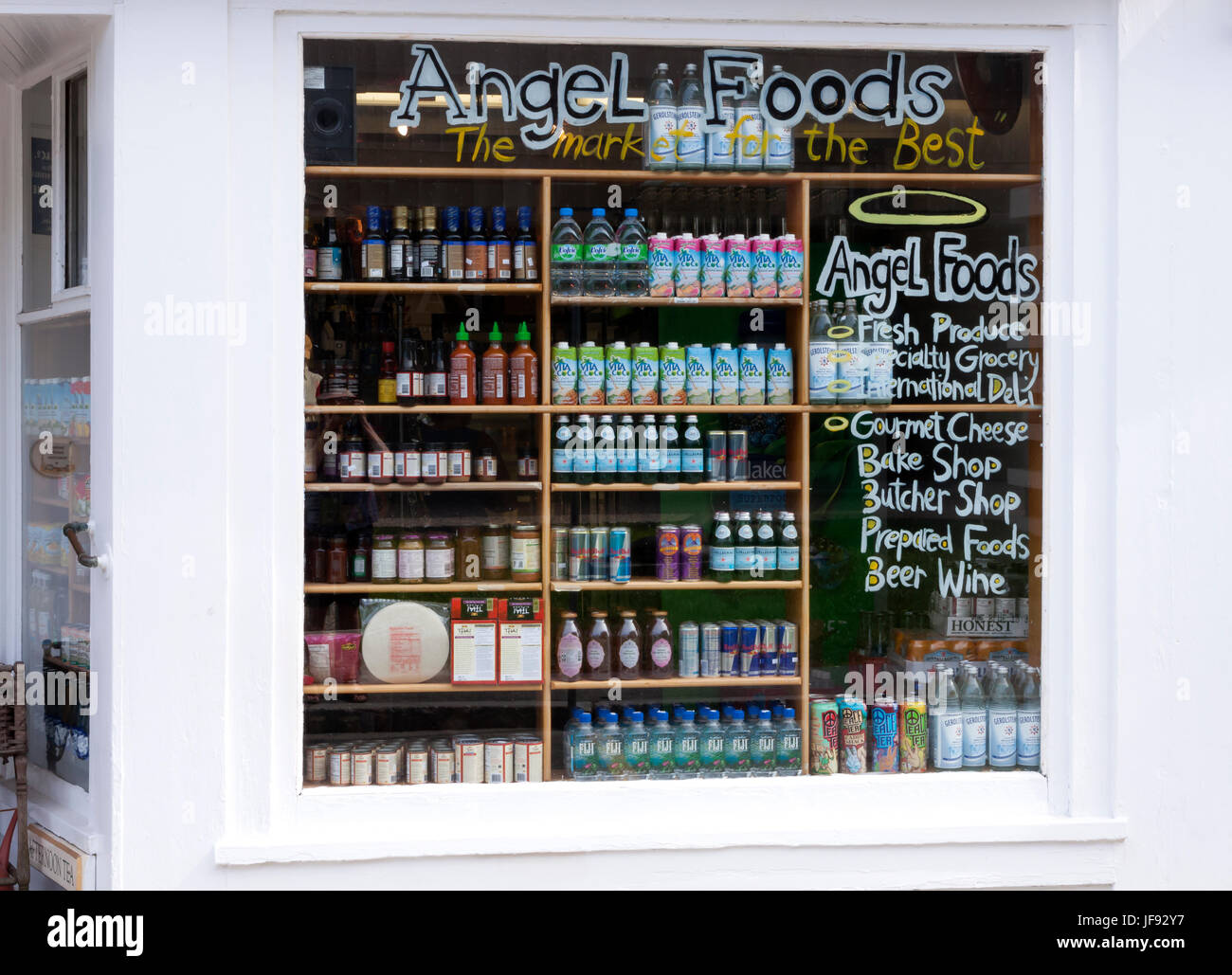Angel Foods Market in Provincetown, Massachusetts. Property Released. - Stock Image