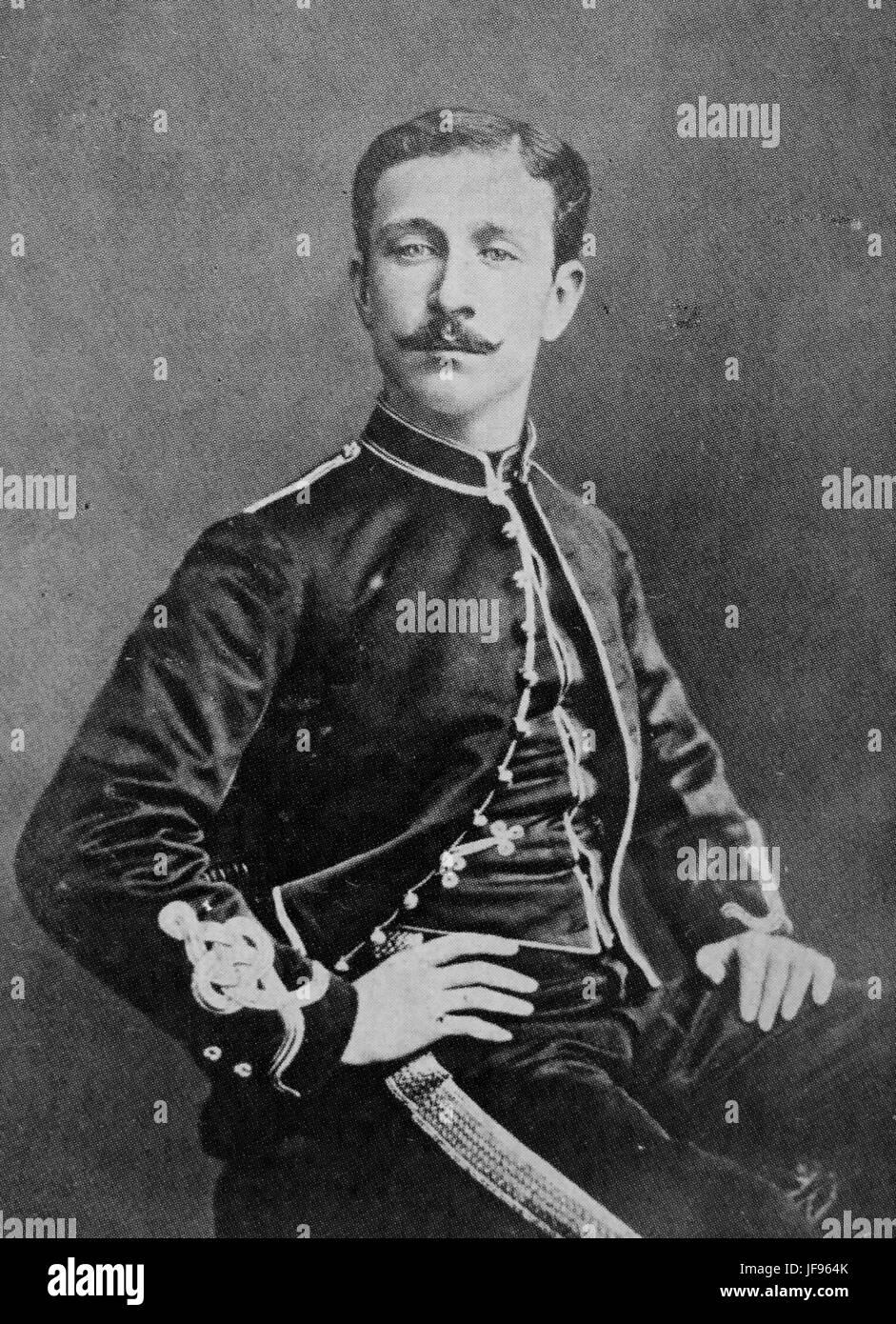 NAPOLEON, Prince Imperial (1856-1879) son of Napoleon II and Eugenie. - Stock Image