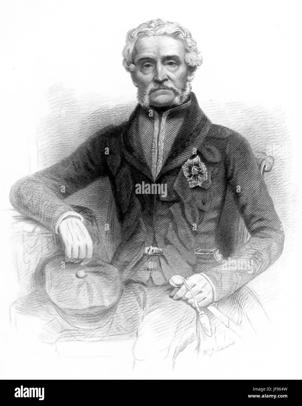 HARRY SMITH (1787-1860) British Army officer - Stock Image
