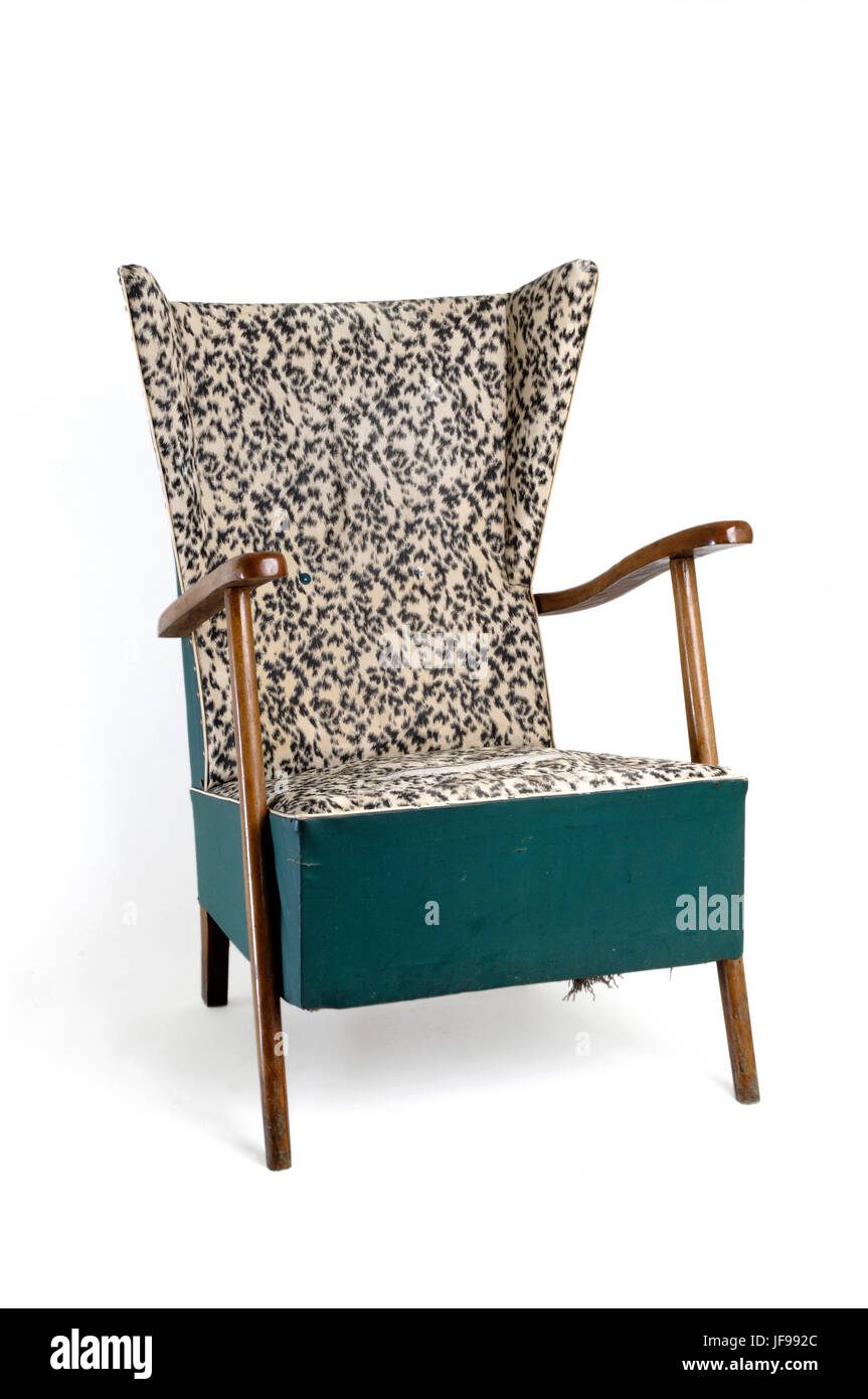 armchair vintage Stock Photo