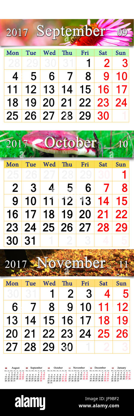 Months Calendar Stock Photos Months Calendar Stock Images Alamy