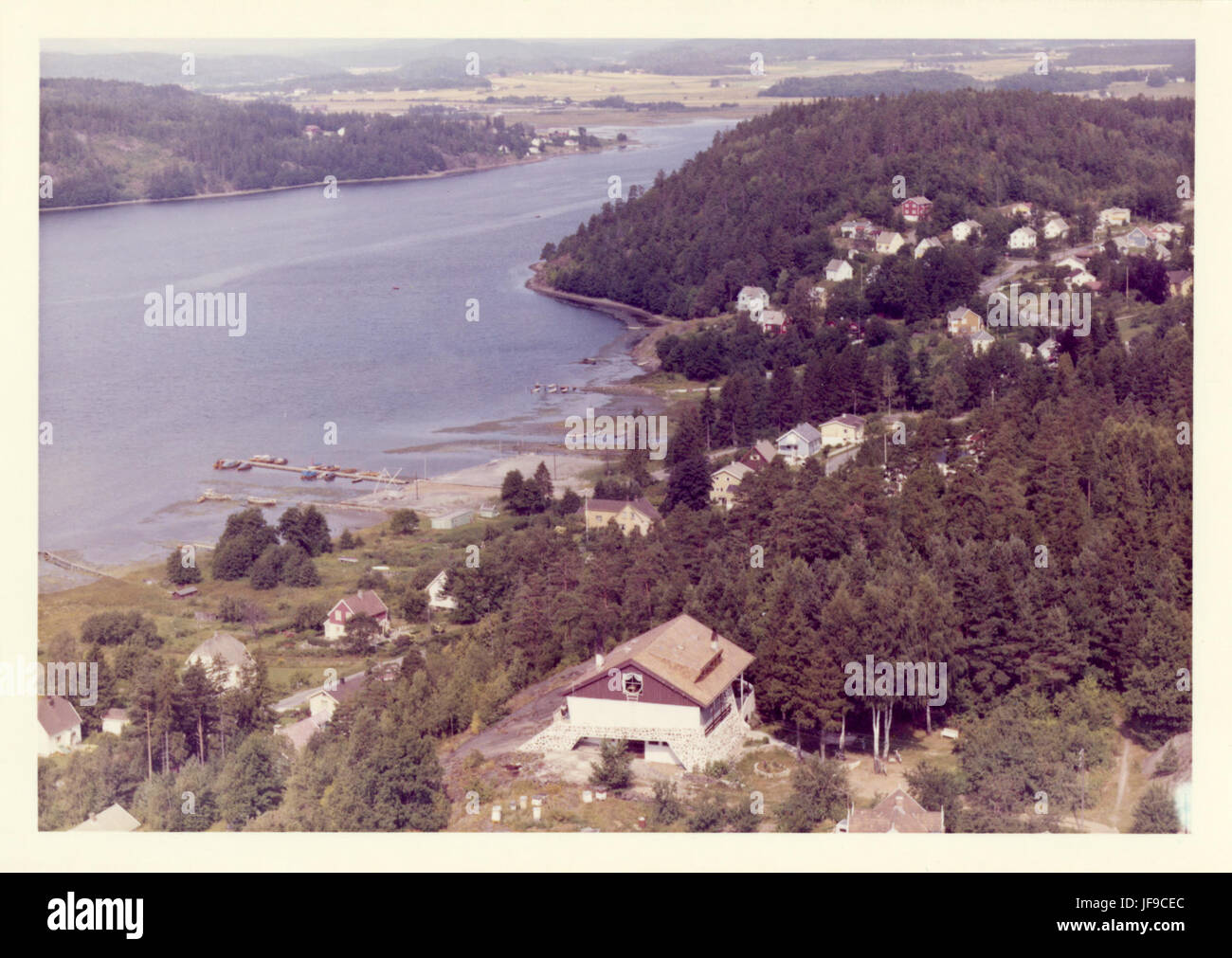 Nordre Munkerekka, Munkerekkbukta, Nøtterøy 24587419013 o - Stock Image