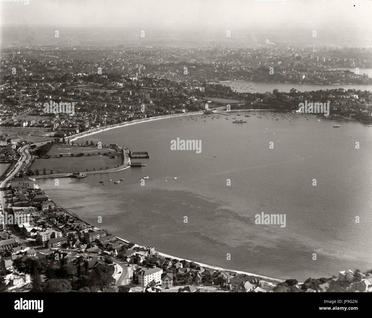 Rose Bay - 2 Aug 1937 30271784885 o - Stock Image