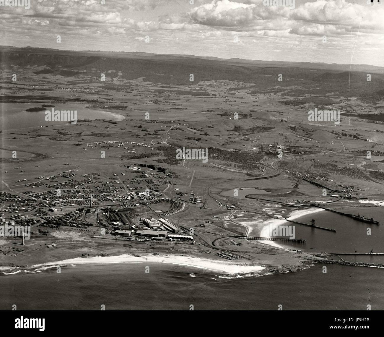 Port Kembla - 1936 29536105653 o - Stock Image