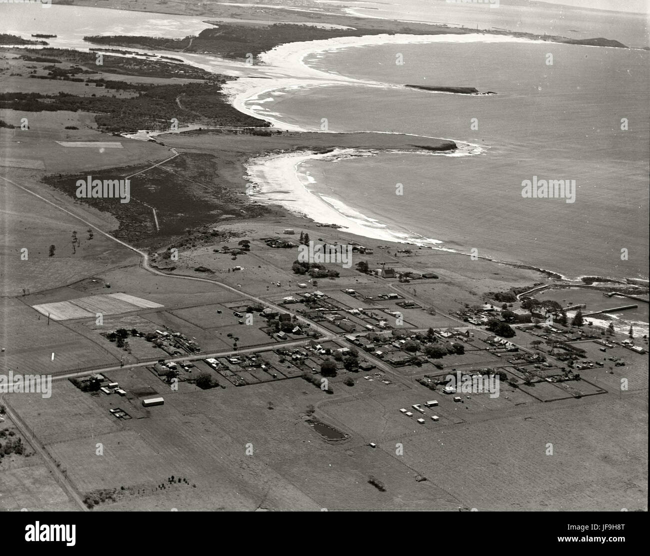 Shell Harbour - 1936 29641117454 o - Stock Image