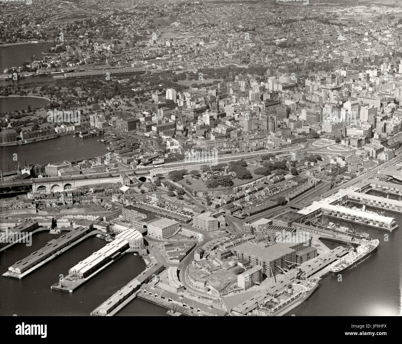 Millers Point & Circular Quay - 29 March 1937 29868196560 o - Stock Image