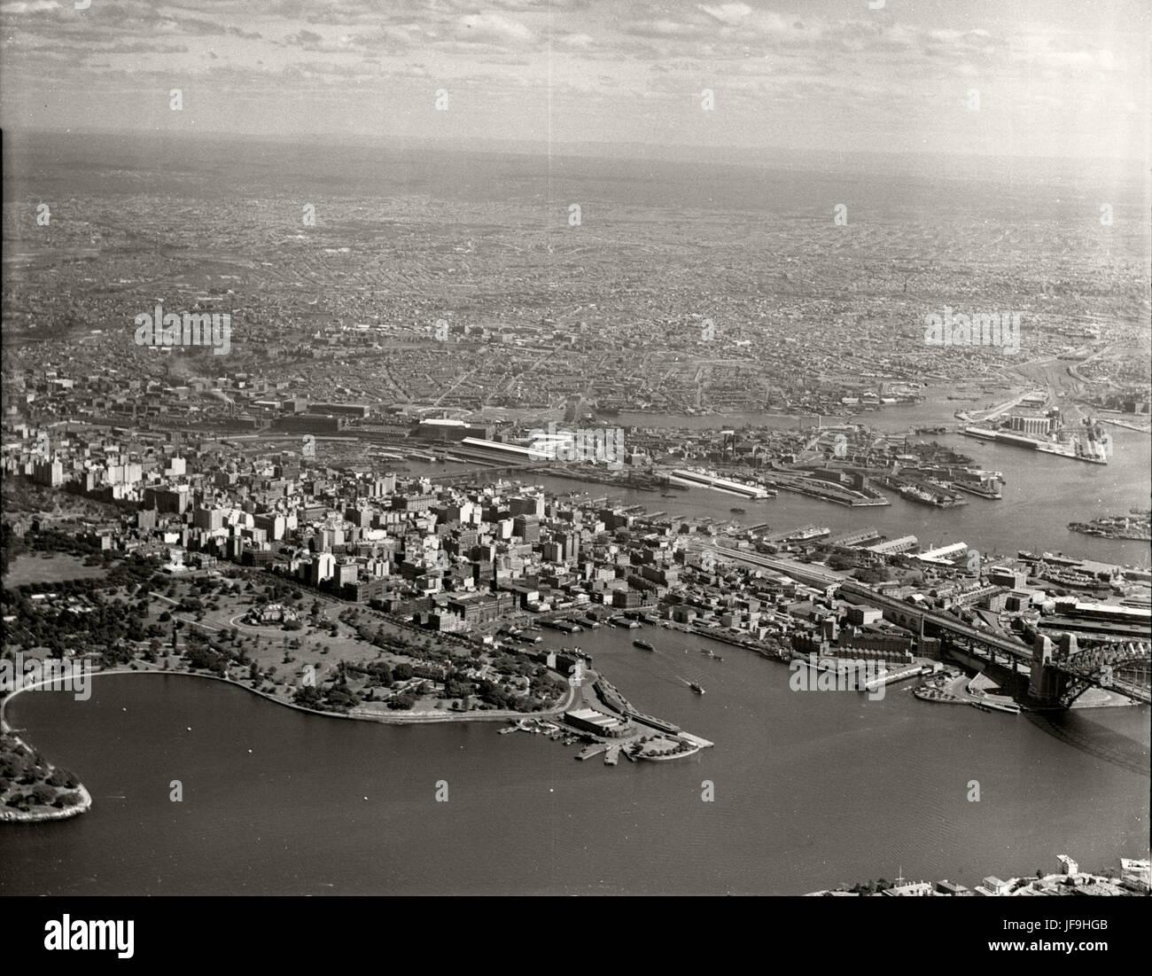 Sydney - Farm Cove, City & Western Suburbs from Mosman 29642264814 o - Stock Image