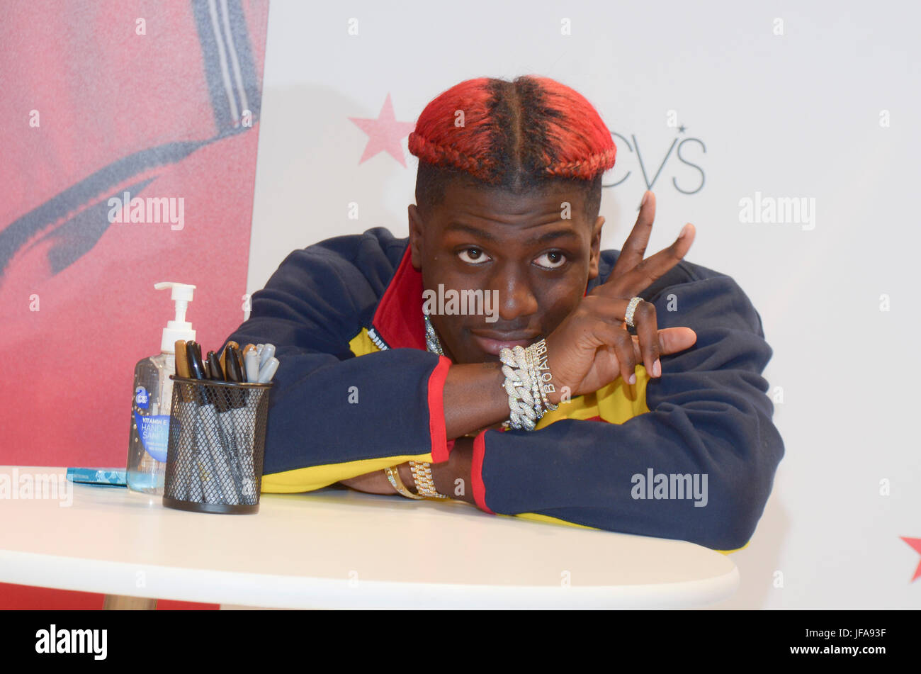 New York Ny Usa 29th June 2017 Lil Yachty Attends The Meet And