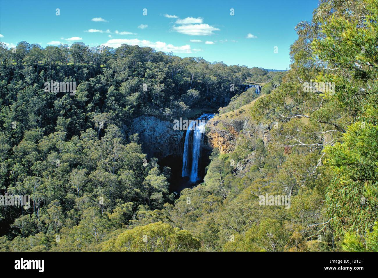 Guy Fawkes River Ebor Falls in New South Wales Australia - Stock Image