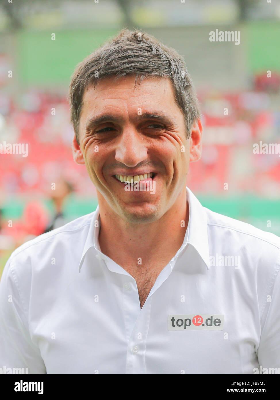 Coach Tayfun Korkut (1.FC Kaiserslautern) - Stock Image