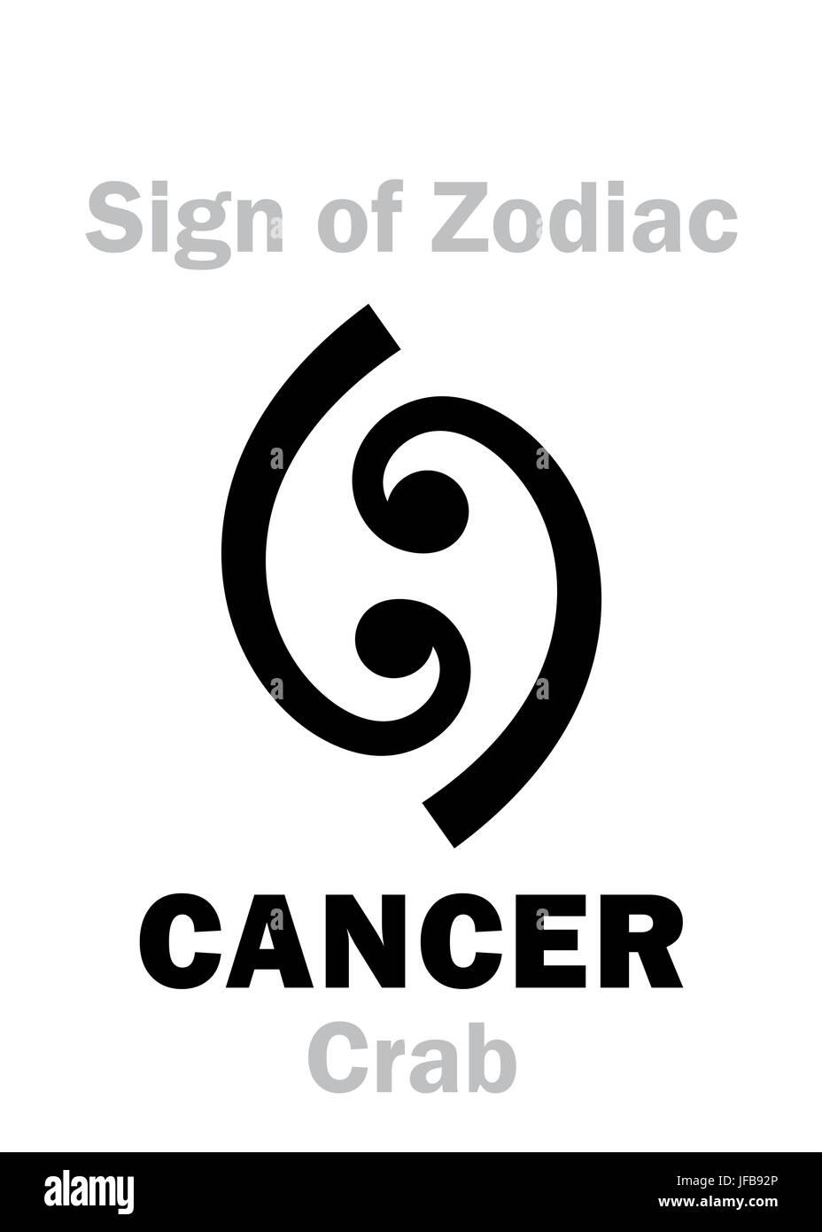 Zodiac Sign Cancer Stock Photos Zodiac Sign Cancer Stock Images