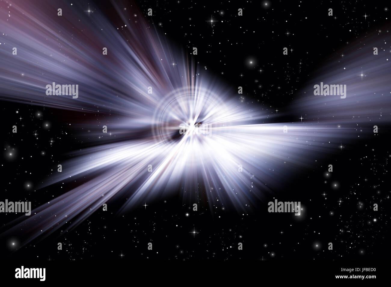 starburst - Stock Image