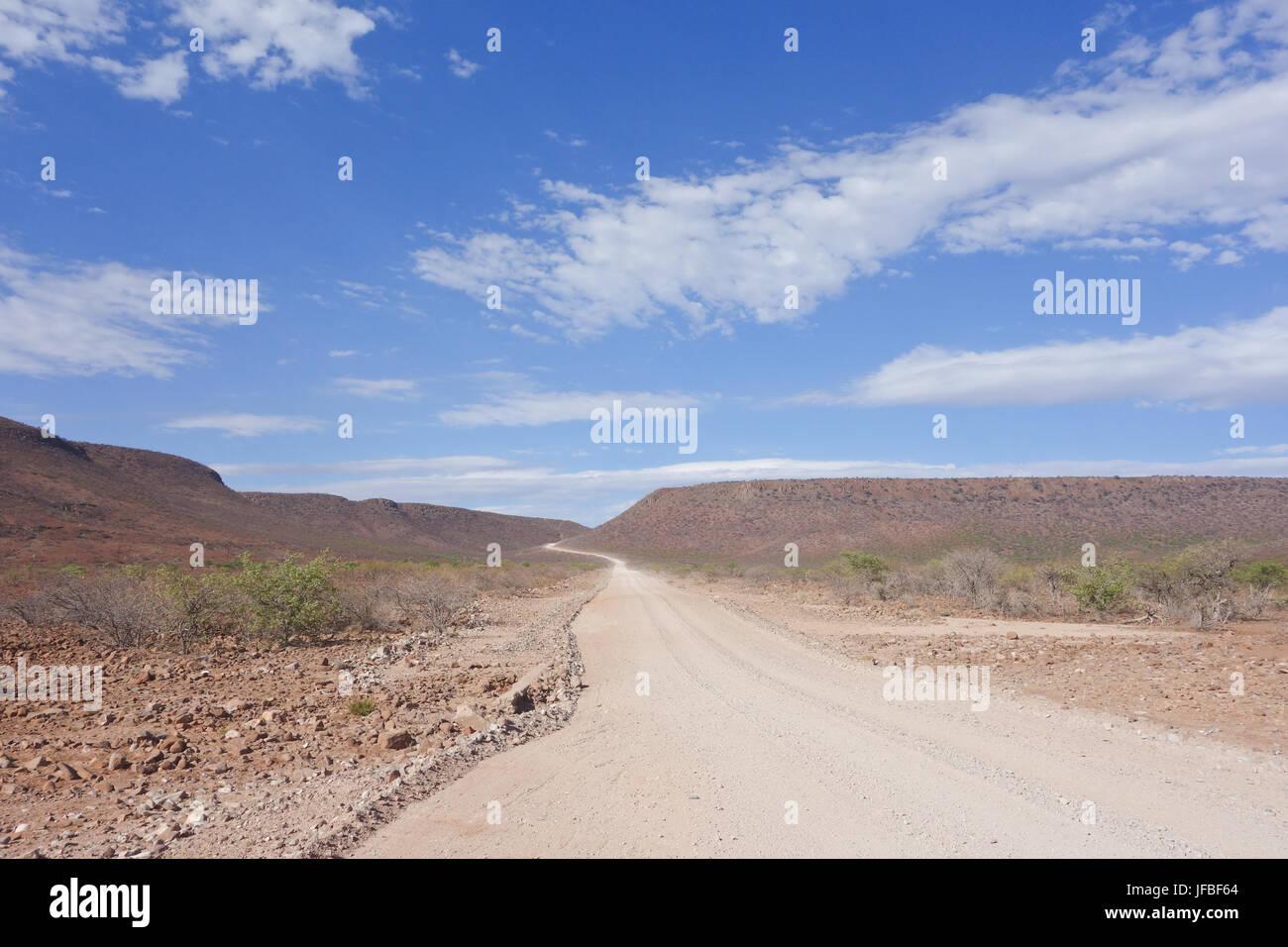 desert road - Stock Image