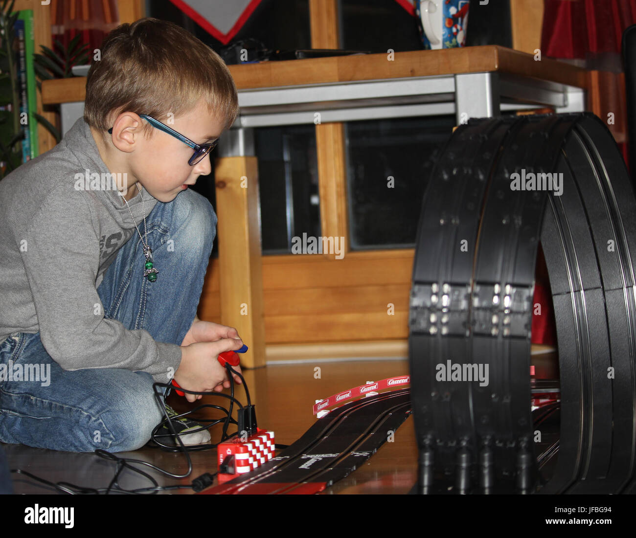 Playing child - Stock Image