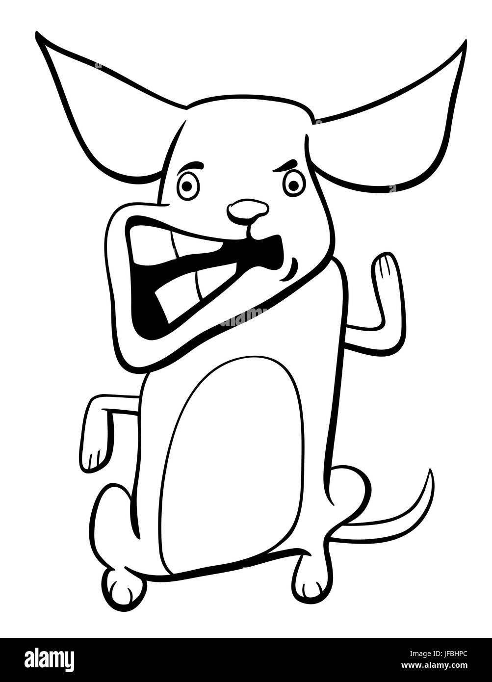black and white coloring pages of dogs.html