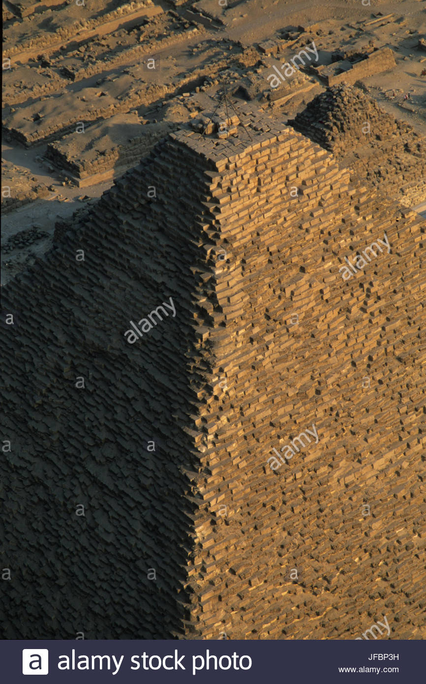 The Pyramid of Menkaure. - Stock Image