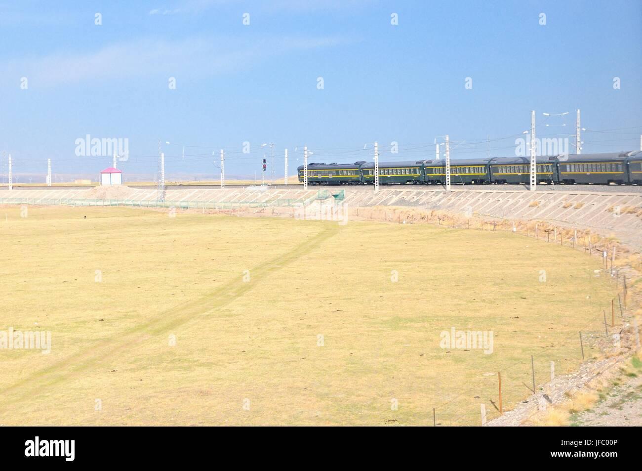 Technology of the Tibet Railway - Stock Image